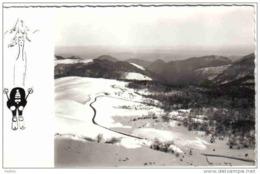 Carte Postale 64. Arette  Station De Sports D'hiver De La Pierre St-Martin Trés Beau Plan - France