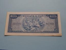 Cent RIELS ( 620547 ) Banque Nationale Du Cambodge ( Voir Photo Pour Détail Svp / For Grade, Please See Photo ) ! - Cambodia