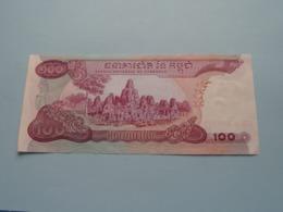 Cent RIELS ( 570228 ) Banque Nationale Du Cambodge ( Voir Photo Pour Détail Svp / For Grade, Please See Photo ) ! - Cambodge