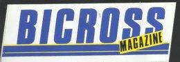 Autocollant - Bicross Magazine - Aufkleber