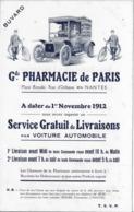 75  BUVARD GRANDE PHARMACIE DE PARIS BON ETAT VOIR LES 2 SCANS - Altri