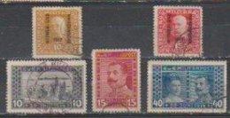 Bosnie-Herzegovine  1917  N° 115  / 19  Oblitéré. Série Compléte - Bosnien-Herzegowina