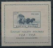 POLEN 1958 Bl.22 Postfrisch (117876) - Polen