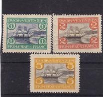 E.10515 Switzerland 1905 Full Set MLH, Michel 35 - 37: Navy - Danimarca (Antille)