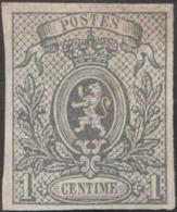 Belgique 1866 COB / Y&T 22 Neuf Sans Gomme. 10 C Petit Lion Non Dentelé - 1866-1867 Piccolo Leone