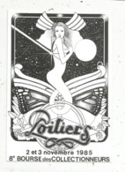 Cp, Bourses & Salons De Collections, 8 E Bourse Des Collectionneurs,86 ,  POITIERS , 1985 - Sammlerbörsen & Sammlerausstellungen