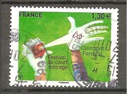 FRANCE 2018 Y&T N° 5201-  Oblitéré CACHET ROND Festival Du Court Metrage - Oblitérés