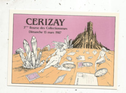 Cp, Bourses & Salons De Collections, 3 E Bourse Des Collectionneurs, CERIZAY ,79 ,illustrateur : Guy Roger - Bourses & Salons De Collections