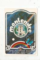 Cp, Bourses & Salons De Collections, 3 E Bourse De Cartes Postales Et Toutes Collections ,17 , MONTENDRE ,1986 - Sammlerbörsen & Sammlerausstellungen