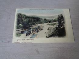 Duitsland ( 549 )  Deutschland  Allemagne  :   Gruss Aus Siebenlehn  Train  Trein  Gare - Deutschland