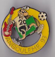 PIN'S   THEME  BD  ANGOULEME  FESTIVAL DE LA BD 1993  MARGERIN - BD