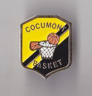 PIN'S   THEME  SPORT  BASKETBALL  CLUB DE COCUMONT EN LOT ET GARONNE - Basketball