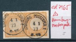 DR.- Briefstück O-Hamburg Postexpedition   (ed7165  ) Siehe Scan - Gebraucht