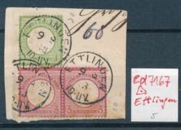 DR.- Briefstück O- Ettlingen     (ed7167  ) Siehe Scan - Germany