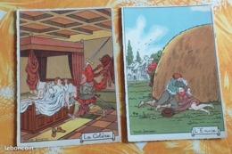Barré-Dayez,illustrateur Jeanjean,série Complète Des 7 Pêchés Capitaux - Humor