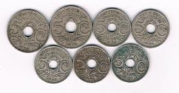5 CENTIMES LOT FRANKRIJK /6758/ - C. 5 Centimes