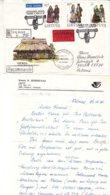 Lituanie - Lettre Recom Exprès De 1993 - Oblit Vilnius - Exp Vers Eefde - Costumes - - Lituanie