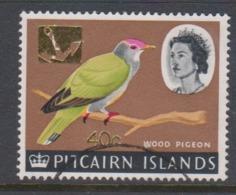 Pitcairn Islands  Scott 83 1967 Queen Elizabeth II ,40c ,used - Stamps