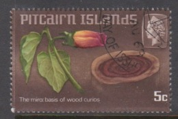 Pitcairn Islands  Scott 91 1968 Handicrafts 5c ,used - Stamps