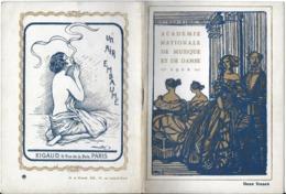 PROGRAMME ACADÉMIE NATIONALE DE MUSIQUE ET DE DANS 1922 GAZETTE DE L'OPÉRA N° 33 PARIS PUBLICITÉ SPECTACLE THAÏS - Programmes