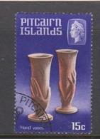 Pitcairn Islands  Scott 93 1968 Handicrafts 15c ,used - Stamps