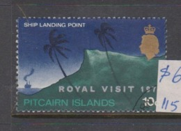 Pitcairn Islands  Scott 118 1971 Royal Visit,used - Stamps