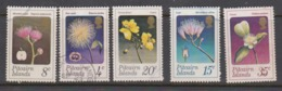 Pitcairn Islands  Scott 130-134 1973 Flowers,used - Stamps