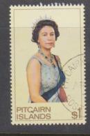 Pitcairn Islands  Scott 146 1975 Queen Elizabeth II,$ 1.00 Queen,used - Stamps