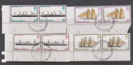 Pitcairn Islands  Scott 148-150 1975 Mailboats,Used Pair - Stamps