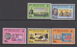 Pitcairn Islands Scott 338-342 1990 50th Anniversary First Postage Stamp,used - Stamps