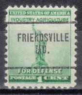 USA Precancel Vorausentwertung Preo, Locals Maryland, Friendsville 704 - Vereinigte Staaten