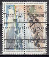 USA Precancel Vorausentwertung Preo, Locals Maryland, Frostburg 841, Hatteras Block - Vereinigte Staaten