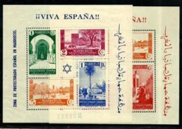 Marruecos Español Nº 167/68 En Nuevo - Spanish Morocco