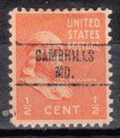 USA Precancel Vorausentwertung Preo, Locals Maryland, Gambrills 748 - Vereinigte Staaten