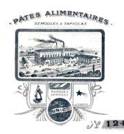 DREVET   Pates Alimentaires, Semoules, Tapiocas   ANDANCETTE  (Drome)       TOP Illustration - Lettres De Change