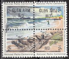 USA Precancel Vorausentwertung Preo, Locals Maryland, Glen Arm 841, Hatteras Block - Vereinigte Staaten