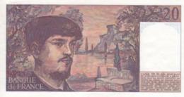 20 Francs Claude Debussy 1980 - 1962-1997 ''Francs''