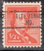 USA Precancel Vorausentwertung Preo, Locals Maryland, Glen Burnie 734 - Vereinigte Staaten