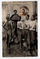 - CPA PNOM-PENH (Cambodge) - Jeunes Filles 1923 (belle Animation) - Collection Dieulefils 1664 - - Cambodja