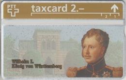 SUISSE - PHONE CARD - TAXCARD-PRIVÉE ***  ROI - KÖNIG - KING / 16 *** - Schweiz