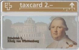 SUISSE - PHONE CARD - TAXCARD-PRIVÉE ***  ROI - KÖNIG - KING / 17 *** - Schweiz
