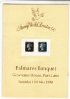 G.B. / 1990 Stamp Exhibition / Penny Black + Two Penny Blue / Dulac 1940 Essays - Ohne Zuordnung