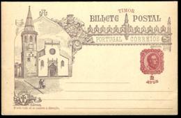 ENTIER POSTAL - TIMOR - PORTUGAL - GANZSACHE - POSTAL STATIONERY - - Sonstige