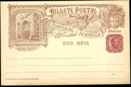 PORTUGAL ESPAGNE MADEIRA - GANZSACHE - POSTAL STATIONERY - ENTIER POSTAL - Portugal