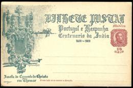 PORTUGAL INDE - GANZSACHE - POSTAL STATIONERY - ENTIER POSTAL - Portugal