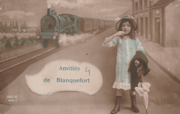 *** 33  ***  BLANQUEFORT Amitiés De BLANQUEFORT  TTB écrite - Blanquefort