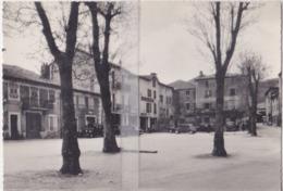 CPSM SAINT-CIRGUES-EN-MONTAGNE  PLACE DU BREUIL ( VIEILLES VOITURES ) - France