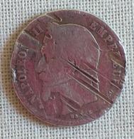 Piéce De 50 Cent Napoléon III 1865 - Frankreich