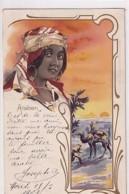 ARABIEN         FEMME ET PAYSAGE        BEL AFFRANCHISSEMENT - Postcards