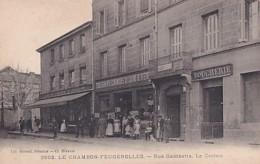 LE CHAMBON        RUE GAMBETTA.    LE CASINO - Le Chambon Feugerolles